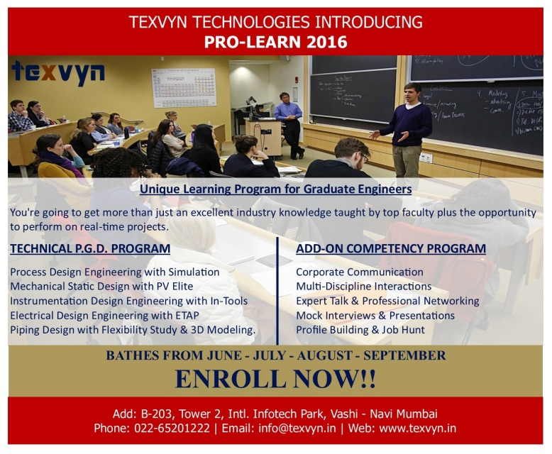 Process Engineering Texvyn Technologies